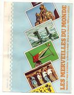 Protège-cahiers Les Merveilles Du Monde édité Par Nestlé Et Kohler- Format : 23.5x18cm - Book Covers