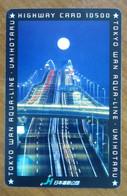 GIAPPONE Ticket Biglietto Pedaggio  Ponti Tokyo Aqua Line Highway Card 10,500 ¥ - Usato - Other
