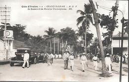 CPA-1920-COTE D IVOIRE-GRAND BASSAM-Boulevard Du Maréchal Trechelaplaine-Edit Bloc Freres-TBE - Côte-d'Ivoire