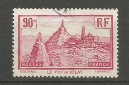 Timbre France  Oblitere N 290 - Gebruikt