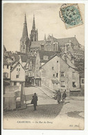 CHARTRES , La Rue Du Bourg , 1904 , CPA ANIMEE - Chartres