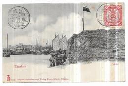 Tientsin Pai-Ho Soldats Russes Original-Aufnahme Und Verlag Franz Scholz, Tsingtau (Cachets+Timbre) - Cina
