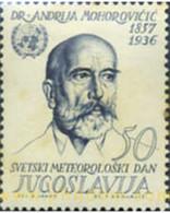 Ref. 293810 * MNH * - YUGOSLAVIA. 1963. WEATHER DAY . DIA DE LA METEOROLOGIA - Unused Stamps