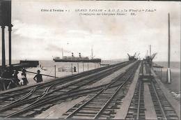 CPA-1920-COTE D IVOIRE-GRAND BASSAM-Le WHARF Et Bateau ASIE-Edit Bloc Freres-TBE - Côte-d'Ivoire