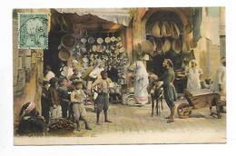 Tunisie Tunis Souk El Krana 1909 - Tunisie
