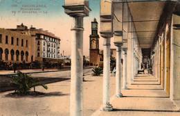 CASABLANCA (Maroc) à Petit Prix - Boulevard Du 4e Zouaves - Cpa De 1925 En Bon état - 2 Scans - Casablanca