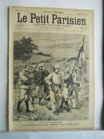 LE PETIT PARISIEN N°342 - 25 AOUT 1895 - MADAGASCAR SOLDAT MILITAIRE - ALSACE LORRAINE 1870-1871 - 1850 - 1899