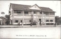 CPA-1920-COTE D IVOIRE-GRAND BASSAM-ABIDJAN-Bureau De Poste-Edit Bloc Freres-TBE - Côte-d'Ivoire