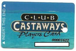 Castaways Casino, Las Vegas, Older Used Slot Or Player's Card, # Castaways-1 - Cartes De Casino