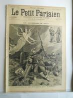 LE PETIT PARISIEN N°343 - 1 SEPTEMBRE 1895 - 1870-1871 MORT POUR LA PATRIE -  GRANDE MANŒUVRES  MILITAIRE - 1850 - 1899