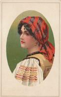 ROUMANIE, ROMANIA, National Costume,Original Old Postcard, Used - Romania