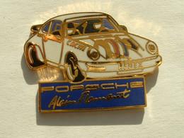 Pin's PORSCHE 911 - ALAIN FLAMANT - Porsche