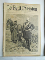 LE PETIT PARISIEN N°344 - 8 SEPTEMBRE 1895 - GENERAL DRAGOMIROFF RUSSIE - GRANDES MANOEUVRE - 1850 - 1899