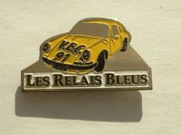 Pin's PORSCHE 911 - LES RELAIS BLEUS - Porsche