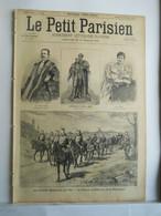 LE PETIT PARISIEN N°345 - 15 SEPTEMBRE 1895 - GRANDES MANOEUVRE DE L'EST - GENERAL SAUSSIER - 1850 - 1899