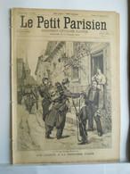 LE PETIT PARISIEN N°346 - 22 SEPTEMBRE 1895 - GRANDES MANOEUVRE MILITAIRES - 1850 - 1899