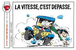 Gaston Lagaffe Voiture Adhésif La Vache Qui Rit 1986 - Unclassified