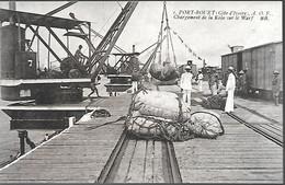 CPA-1920-COTE D IVOIRE-GRAND BASSAM-ABIDJAN-PORT BOUET-Chargement De Kola Sur Le Wharf-Edit Bloc Freres-TBE - Côte-d'Ivoire