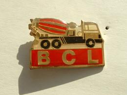 PIN'S TRAVAUX PUBLIC - BTP - CAMION TOUPIE A BETON - BCL - Unclassified