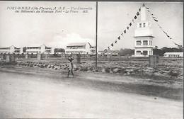 CPA-1920-COTE D IVOIRE-GRAND BASSAM-ABIDJAN-PORT BOUET-Batiments Du Nouveau Port-Edit Bloc Freres-TBE - Côte-d'Ivoire