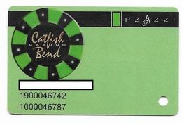 Catfish Bend Casino, Burlington, IA,  U.S.A., Older Used Slot Or Player's Card, # Catfish-1 - Cartes De Casino