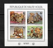 Upper Volta 1984 Animals Wild Cats WWF Imperf. MNH  - (A-18) - Raubkatzen