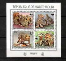 Upper Volta 1984 Animals Wild Cats WWF MNH - (A-18) - Raubkatzen