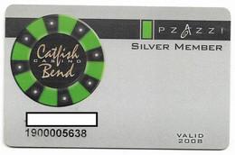 Catfish Bend Casino, Burlington, IA,  U.S.A., Older Used Slot Or Player's Card, # Catfish-2 - Cartes De Casino