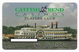 Catfish Bend Casino, Burlington, IA,  U.S.A., Older Used Slot Or Player's Card, # Catfish-3 - Cartes De Casino