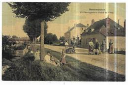 Sommesous La Fromagerie Et Route De Vitry (Carte Toilée Couleur) - Other Municipalities