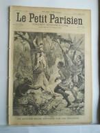 LE PETIT PARISIEN N°348 - 6 SEPTEMBRE 1895 - CONGO BELGE OFFICIER INDIGENE - LOUIS PASTEUR - 1850 - 1899