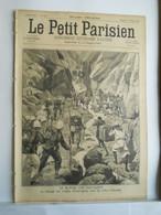 LE PETIT PARISIEN N°349 - 13 SEPTEMBRE 1895 - TANANARIVE - PASSAGE DES TROUPES A ANDRIBA - LOUIS PASTEUR - 1850 - 1899