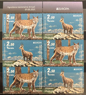 Bosnia And Hercegovina, 2021, Europa Cept Stamps, Endangered Animal Species , Booklet (MNH) - Bosnia Herzegovina