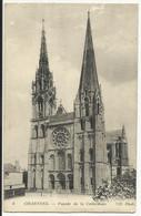 CHARTRES , Façade De La Cathédrale - Chartres