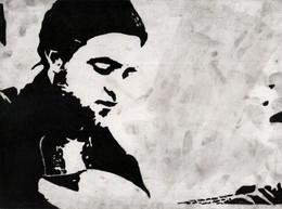 Robert Pattinson Painting Drawing Original Art Celebrity Portrait 20 X 30 Cm Or 7.9 X 11.8 In - Pastelli