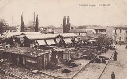 061 - Real Photo - B&W - Smyrne Grèce - Le Bazar - No. P.V. 30 - Written - Half-folded Lower Left Corner: See 2 Scans - Turkey