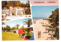 Israel - 8 Cards - Ashkelon - Eilat - Nathania - Nahariya - Netanya - Red Sea - Israel