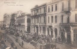 064 - Real Photo - B&W - Smyrne Grèce - Mouvements Des Quais - No. P.V. 7 - Written - 2 Scans - Turkey