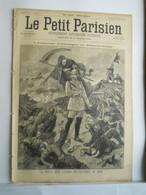 LE PETIT PARISIEN N°351 - 27 SEPTEMBRE 1895 - CHAMPS DE BATAILLE 1870 GUILLAUME II - BUTTE MONTMARTRE CLOCHE SAVOYARDE - 1850 - 1899