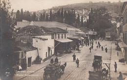 062 - Real Photo - B&W - Smyrne Grèce - Route Basmahané - No. P.V.31 - Written - 2 Scans - Turkey