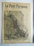 LE PETIT PARISIEN N°352 - 3 NOVEMBRE 1895 - TRAIN ACCIDENT GARE MONTPARNASSE - - 1850 - 1899