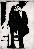 Robert Pattinson And Kristen Stewart Painting Drawing Original Art Celebrity Portrait 20 X 30 Cm Or 7.9 X 11.8 In - Pastelli