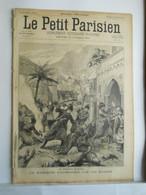 LE PETIT PARISIEN N°354 - 17 NOVEMBRE 1895 - TURQUIE MASSACRE D'ARMENIENS PAR LES KURDES - SOLDATS DU 200° REGIMENT - 1850 - 1899