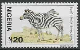 Nigeria 2001 (2005) Tiere Grantzebra 733 D II Postfrisch - Nigeria (1961-...)