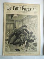 LE PETIT PARISIEN N°35 - 15 DECEMBRE 1895 - CHEMIN DE FER TRAIN ASSASSINAT - ELEPHANTS A BORD D'UN PAQUEBOT - 1850 - 1899