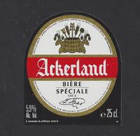étiquettes De Bière Spéciale  -  Ackerland  -  Brasserie Météor à Hochfelden  (67) - Beer