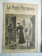 LE PETIT PARISIEN N°360 - 29 DECEMBRE 1895 - NOEL AU PAUVRE - EVENEMENT D'ABYSSINIE MAKONNEN - MAJOR TOSELLI - 1850 - 1899