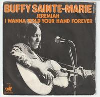 SP 45 TOURS BUFFY SAINTE MARIE JEREMIAH FRANCE Vanguard 119036L BIEM - Rock