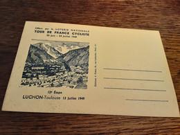 Tour De France Cyclisme Luchon Toulouse 13juillet 1949 - Luchon
