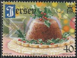 Jersey 2013 Yv. N°1863 - Noël - 40p Pudding - Oblitéré - Jersey